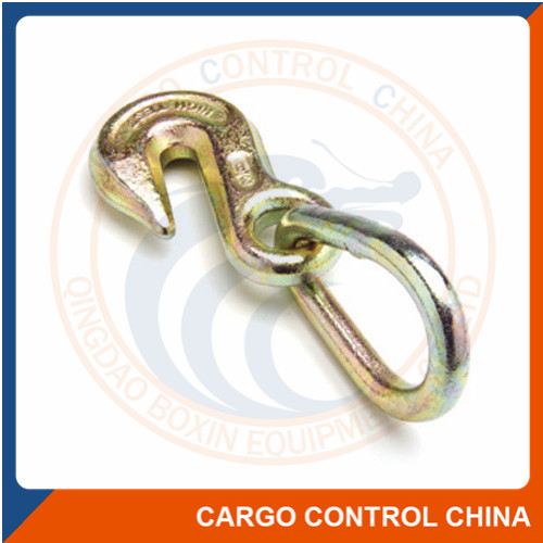 "EBHW014 3/8"" GRAB HOOK WITH PEAR LINK ASSEMBLY"