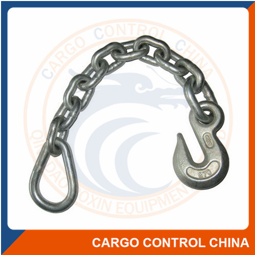 "EBHW015 3/8"" GRAB HOOK WITH PEAR LINK ASSEMBLY"